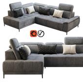 Wersal Calvaro L sofa
