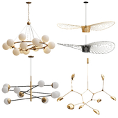 Collection of Minimalist Chandelier