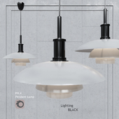Подвесной светильник Poul Henningsen PH4 Glass Pendant Lamp