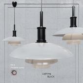 Pendant lamp Poul Henningsen PH4 Glass Pendant Lamp