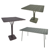 Luxembourg Metallic Tables