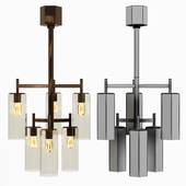 Arteriors Home Soloman BROWN NICKEL
