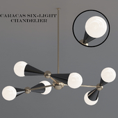 Caracas Six Light Chandelier