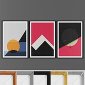 Picture frame set 00019-3