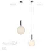 Подвес ODEON LIGHT 4670/1, 4673/1 OKIA