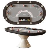 Vismara design poker table