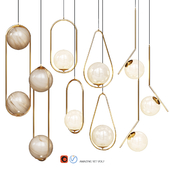 Lampatron HOOP pendant Lights amazing set vol. 7