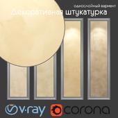 Decorative plaster, single layer version 303