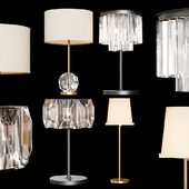 Restoration Hardware Exclusive Table Lamp set 01