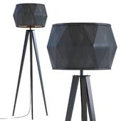 Floor Lamp Stright Tripod Matt Black