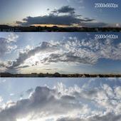 Облака для экстерьера. Гроза. Вечер