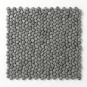 Decor gray pebble
