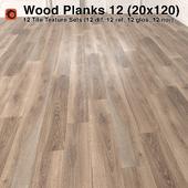 Plank Wood Floor - 12 (20x120)