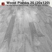 Plank Wood Floor - 20 (20x120)
