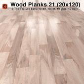 Plank Wood Floor - 21 (6x24)