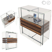 Display cabinet E_serie by Team by Wellis
