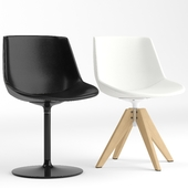 MDF Italia Flow Leather chair