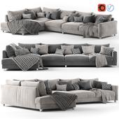 Corner sofa Malte