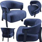 Armchair Cassina 571 BACK-WING