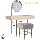 Dressing table Spring Season Arrived (low poly)
