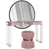 Dressing table La Perla presents design masterpiece, Mia (low poly)