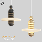 Scandlight Chance Chandelier (low poly)