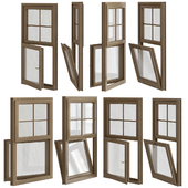 Triple glazed sash window