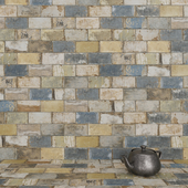 CIR Havana Old Havana Mix 20x10 Tile Set