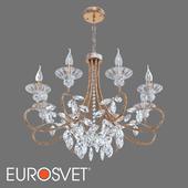 ОМ Классическая люстра с хрусталем Eurosvet 60057/8 Alexandria