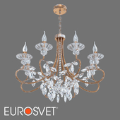 OM Classic chandelier with crystal Eurosvet 60057/8 Alexandria