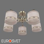 ОМ Классическая потолочная люстра Eurosvet 60086/5 Frangia