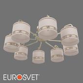 ОМ Классическая люстра с абажурами Eurosvet 60086/8 Frangia