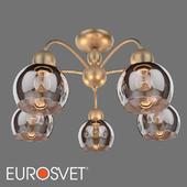 ОМ Потолочная люстра с плафонами Eurosvet 30148/5 золото Fabia