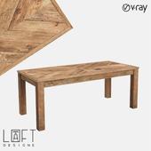 Table LoftDesigne 60208 model