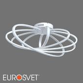 ОМ Потолочный светодиодный светильник Eurosvet 90100/5 белый Evia