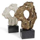 CLIVE BARKER Large Scholar Rock 2016 Bronze Plaster