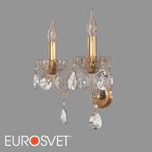OM Classic Crystal Sconce Eurosvet 10097/2 Alcedo