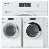 Set of washing machines Miele