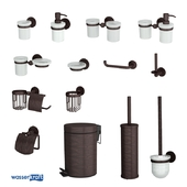 Accessories for a bathroom the Isar K-7300_OM series