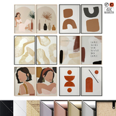 Abstract Posters Set 23