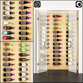 wine bottle unit 01