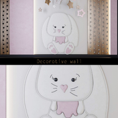 Wall panels for children _ bunny (1)