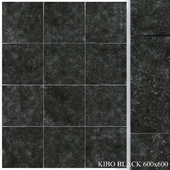Yurtbay Seramik Kibo Black 600x600