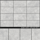 Yurtbay Seramik Kibo Grey 300x600 Set 1