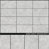 Yurtbay Seramik Kibo Grey 300x600 Set 2