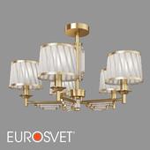 ОМ Потолочная люстра с абажурами Eurosvet 60081/5 Amalfi
