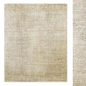 Valeta Hand-Knotted Silk Wool Rug RH
