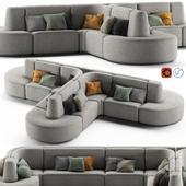 HMD INTERIORS Bistro Sofa 2