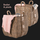 Basket & Plaids, Crate and Barrel