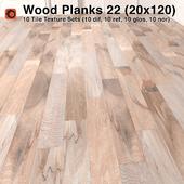 Plank Wood Floor - 22 (6x24)